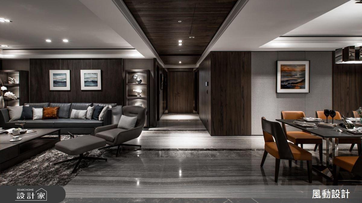 137坪新成屋(5年以下)_現代風客廳餐廳案例圖片_風動設計有限公司_風動_13之7