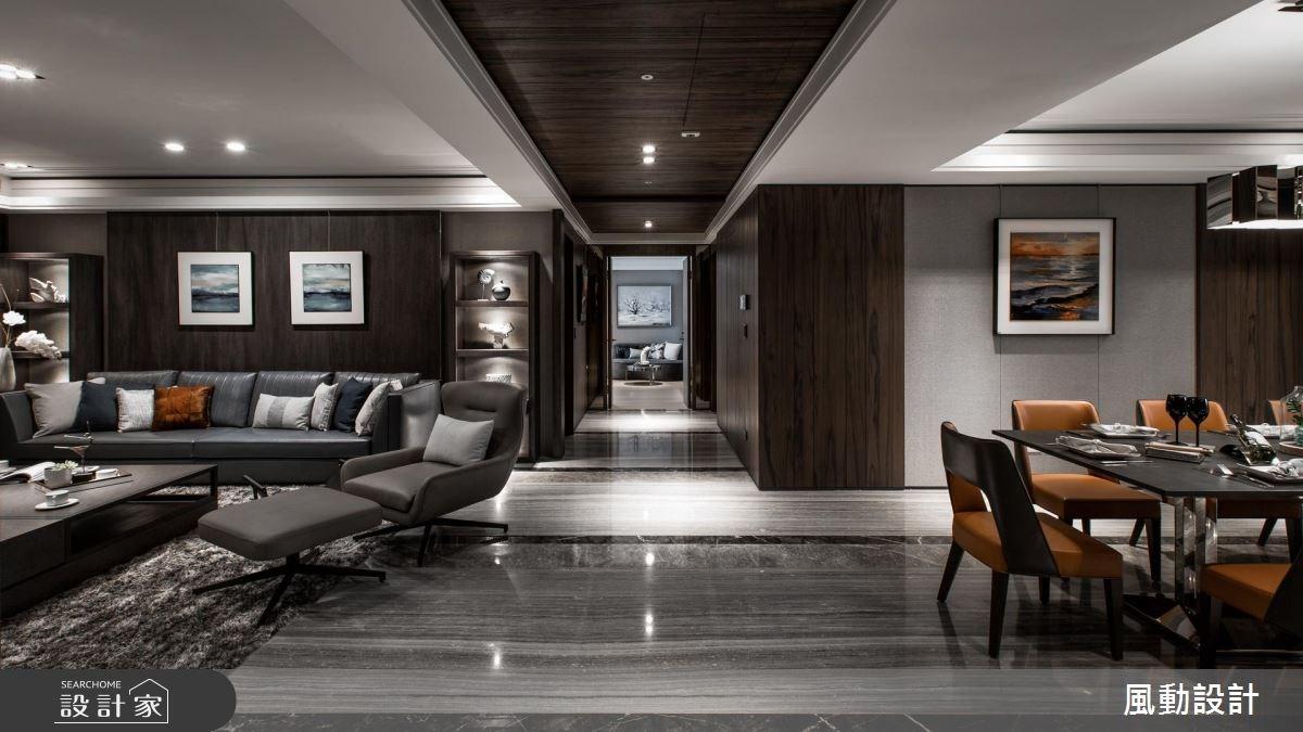 137坪新成屋(5年以下)_現代風客廳餐廳案例圖片_風動設計有限公司_風動_13之8
