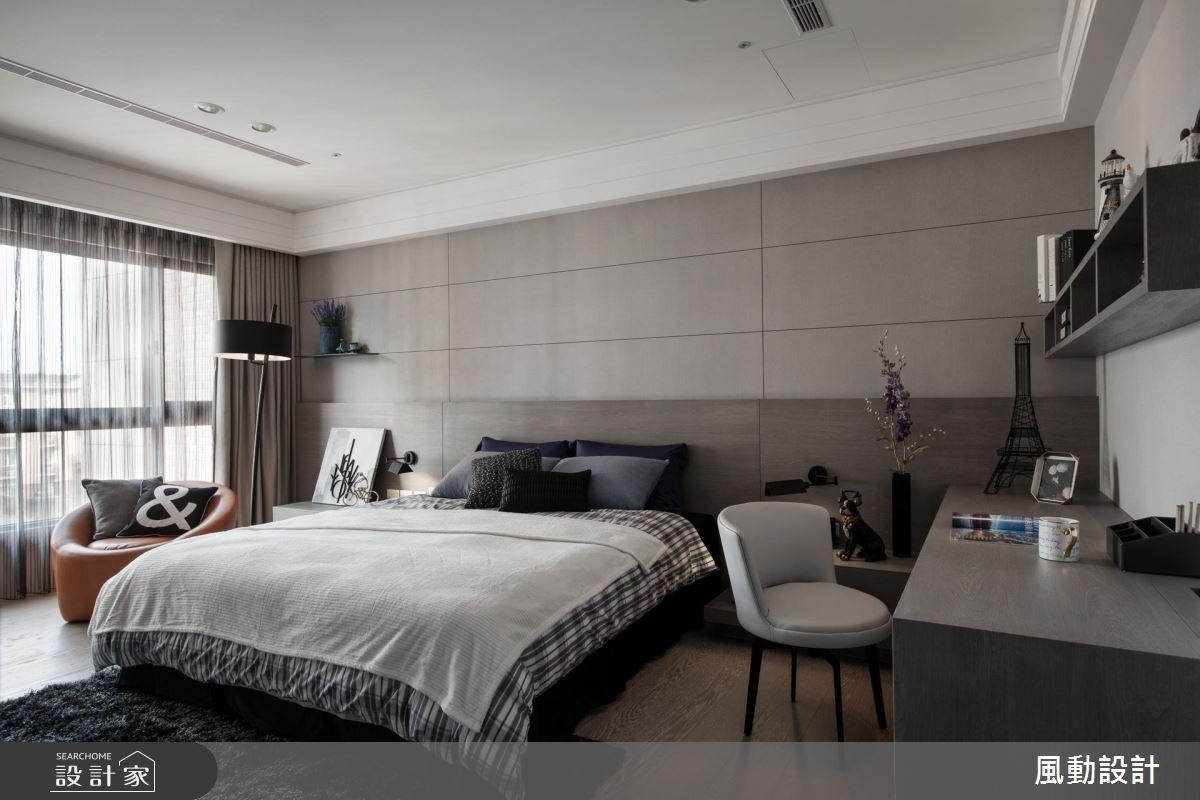 137坪新成屋(5年以下)_現代風臥室案例圖片_風動設計有限公司_風動_13之13