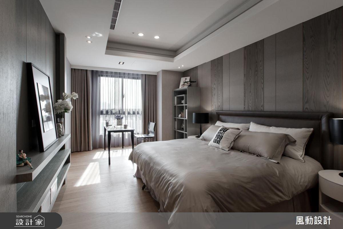 137坪新成屋(5年以下)_現代風臥室案例圖片_風動設計有限公司_風動_13之15