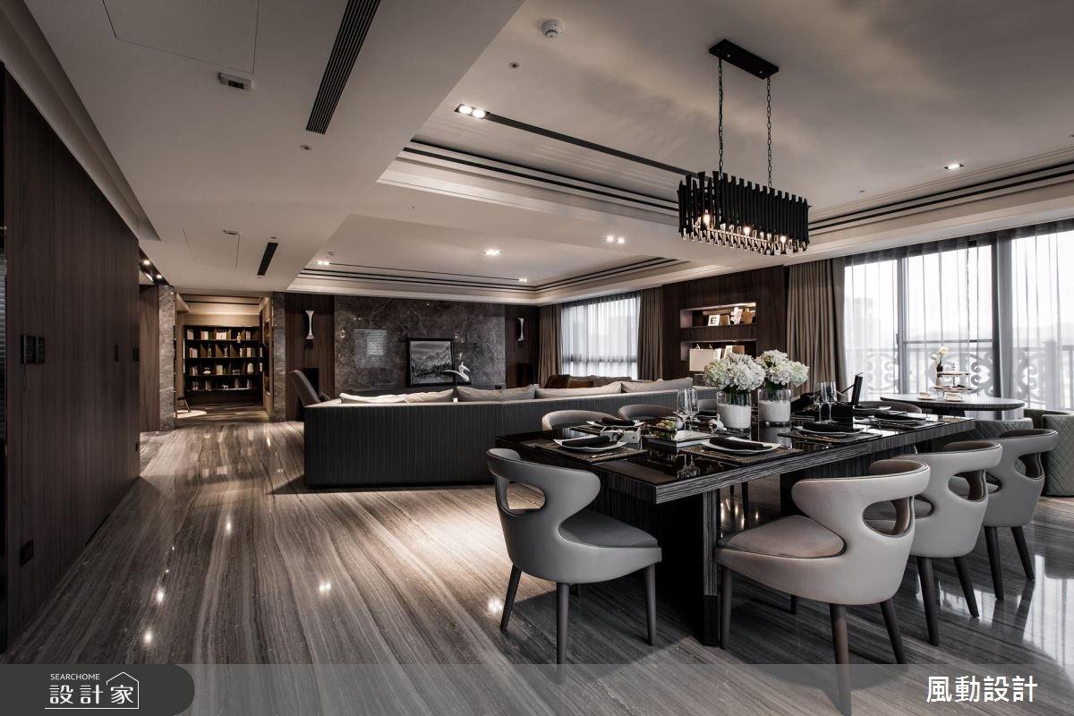 180坪新成屋(5年以下)_現代風客廳餐廳案例圖片_風動設計有限公司_風動_14之2