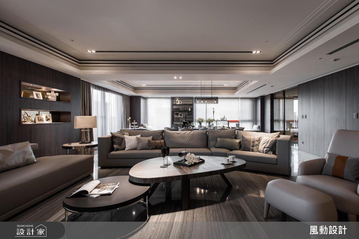 180坪新成屋(5年以下)_現代風客廳餐廳案例圖片_風動設計有限公司_風動_14之4