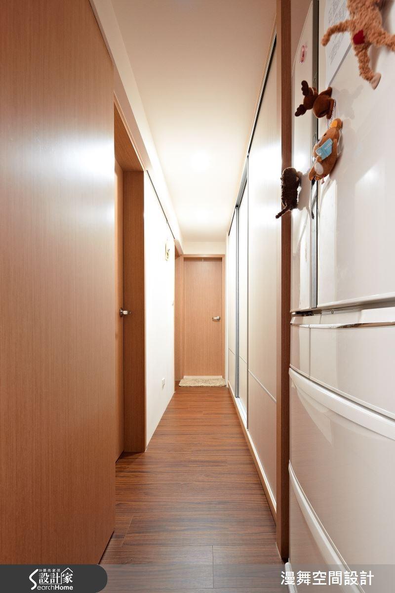 25坪中古屋(5~15年)_簡約風走廊案例圖片_漫舞空間系統設計_漫舞_13之13