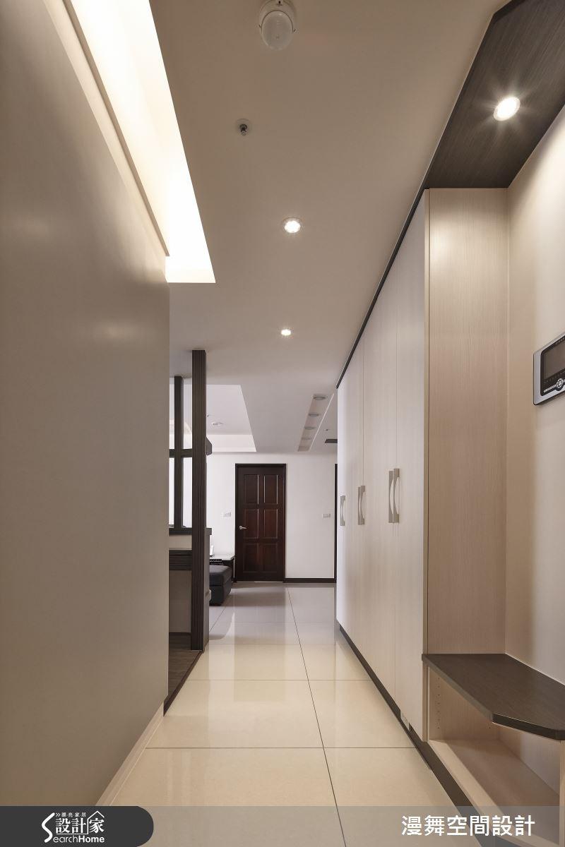 90坪新成屋(5年以下)_混搭風走廊案例圖片_漫舞空間系統設計_漫舞_16之4