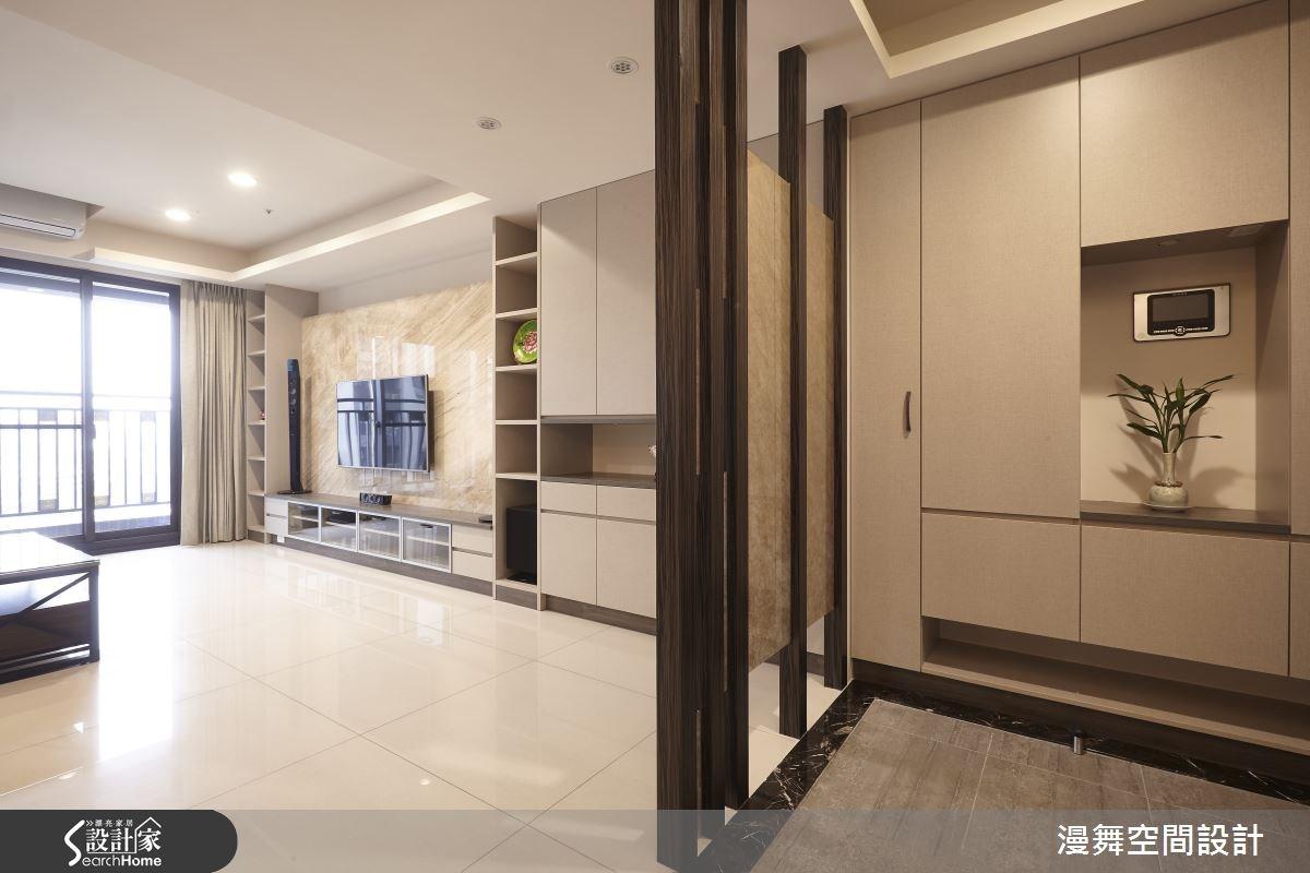 32坪新成屋(5年以下)_玄關案例圖片_漫舞空間系統設計_漫舞_17之2