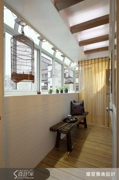 50坪中古屋(5~15年)_新中式風走廊案例圖片_摩登雅舍室內設計_摩登雅舍_15之30