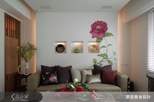 50坪中古屋(5~15年)_新中式風客廳案例圖片_摩登雅舍室內設計_摩登雅舍_15之2