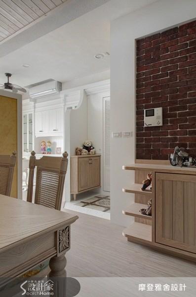 30坪新成屋(5年以下)_鄉村風餐廳案例圖片_摩登雅舍室內設計_摩登雅舍_19之2