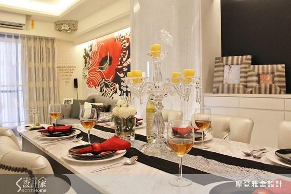30坪新成屋(5年以下)_現代風餐廳案例圖片_摩登雅舍室內設計_摩登雅舍_20之4