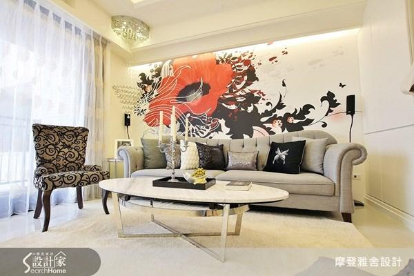 30坪新成屋(5年以下)_現代風客廳案例圖片_摩登雅舍室內設計_摩登雅舍_20之3