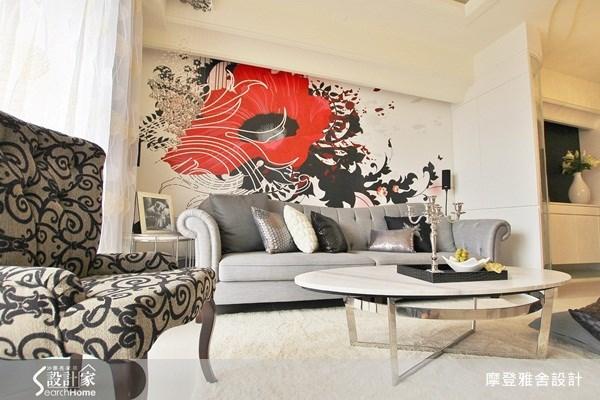 30坪新成屋(5年以下)_現代風客廳案例圖片_摩登雅舍室內設計_摩登雅舍_20之2