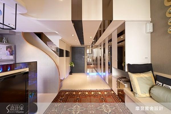 16坪中古屋(5~15年)_現代風客廳案例圖片_摩登雅舍室內設計_摩登雅舍_24之1