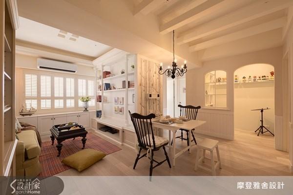 22坪新成屋(5年以下)_鄉村風餐廳案例圖片_摩登雅舍室內設計_摩登雅舍_28之3