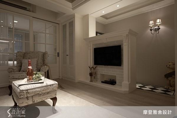 22坪老屋(16~30年)_美式風客廳案例圖片_摩登雅舍室內設計_摩登雅舍_29之1