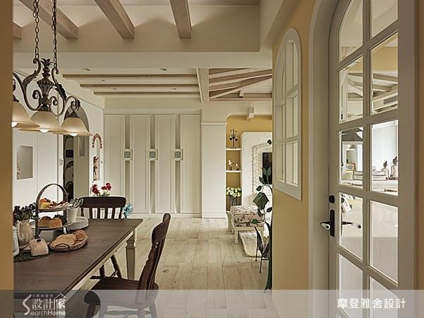 50坪新成屋(5年以下)_鄉村風餐廳案例圖片_摩登雅舍室內設計_摩登雅舍_30之11