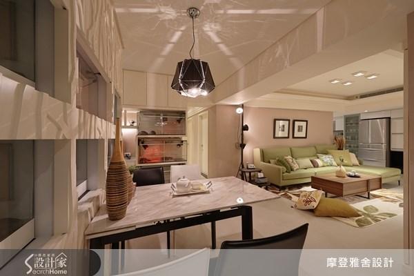 35坪老屋(16~30年)_現代風餐廳案例圖片_摩登雅舍室內設計_摩登雅舍_32之2