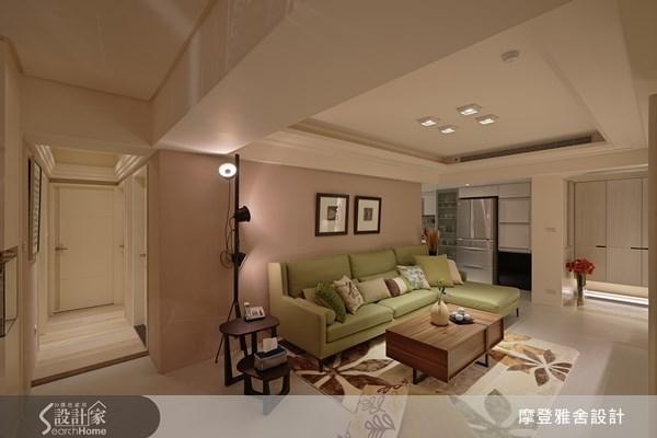 35坪老屋(16~30年)_現代風客廳案例圖片_摩登雅舍室內設計_摩登雅舍_32之1