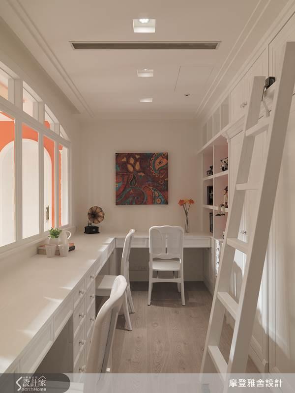 80坪中古屋(5~15年)_鄉村風書房案例圖片_摩登雅舍室內設計_摩登雅舍_36之15