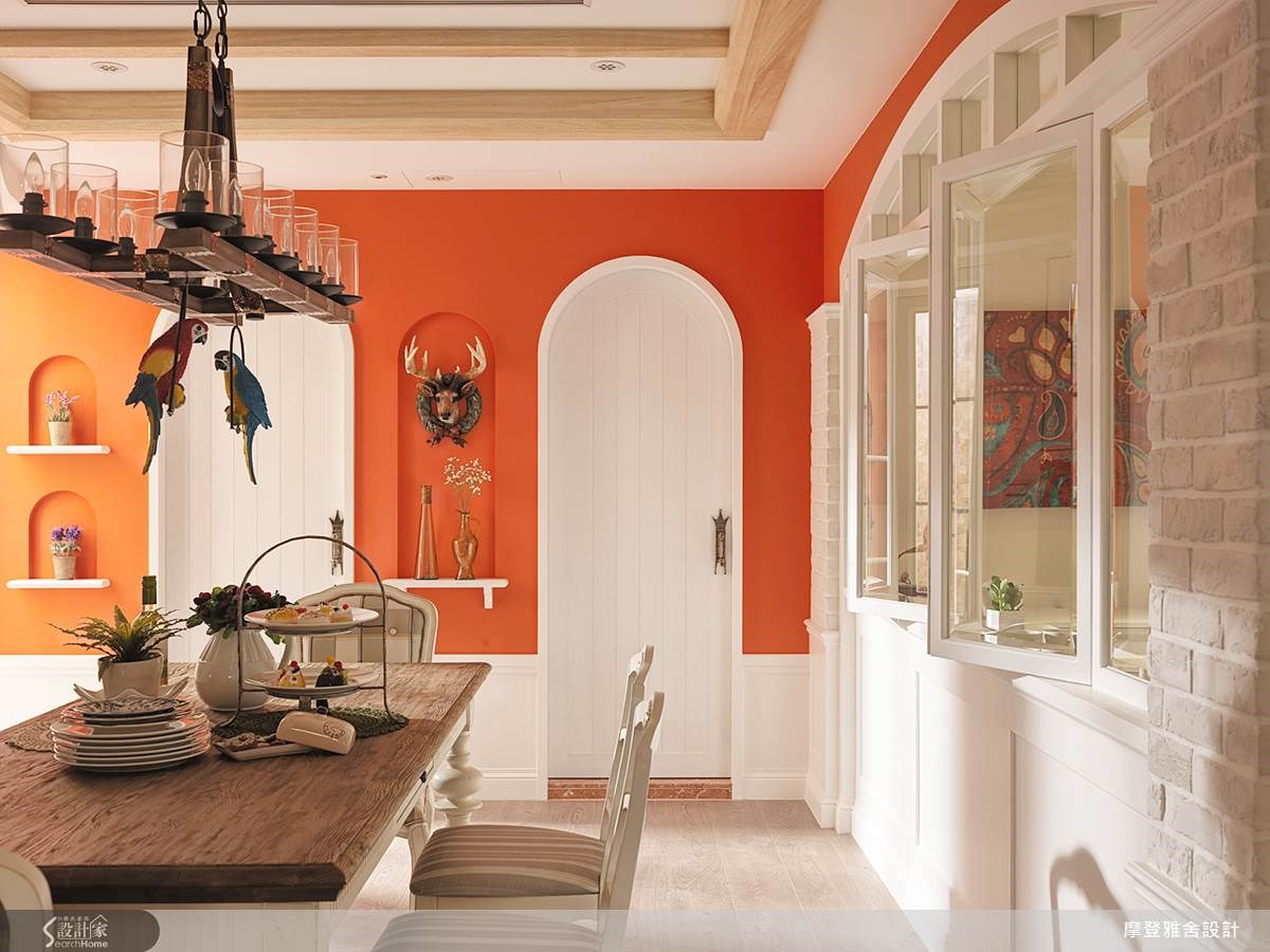 80坪中古屋(5~15年)_鄉村風餐廳案例圖片_摩登雅舍室內設計_摩登雅舍_36之12