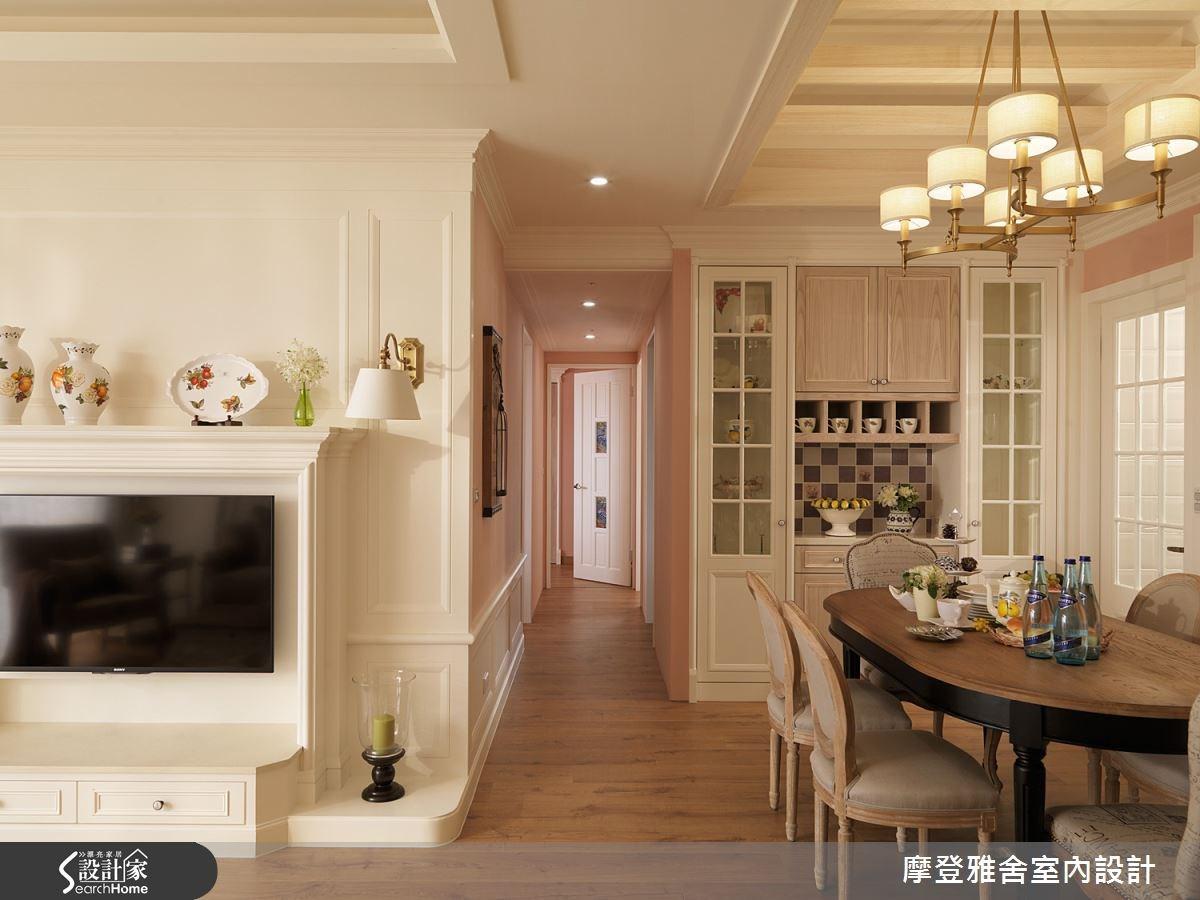 40坪新成屋(5年以下)_美式風餐廳案例圖片_摩登雅舍室內設計_摩登雅舍_42之2