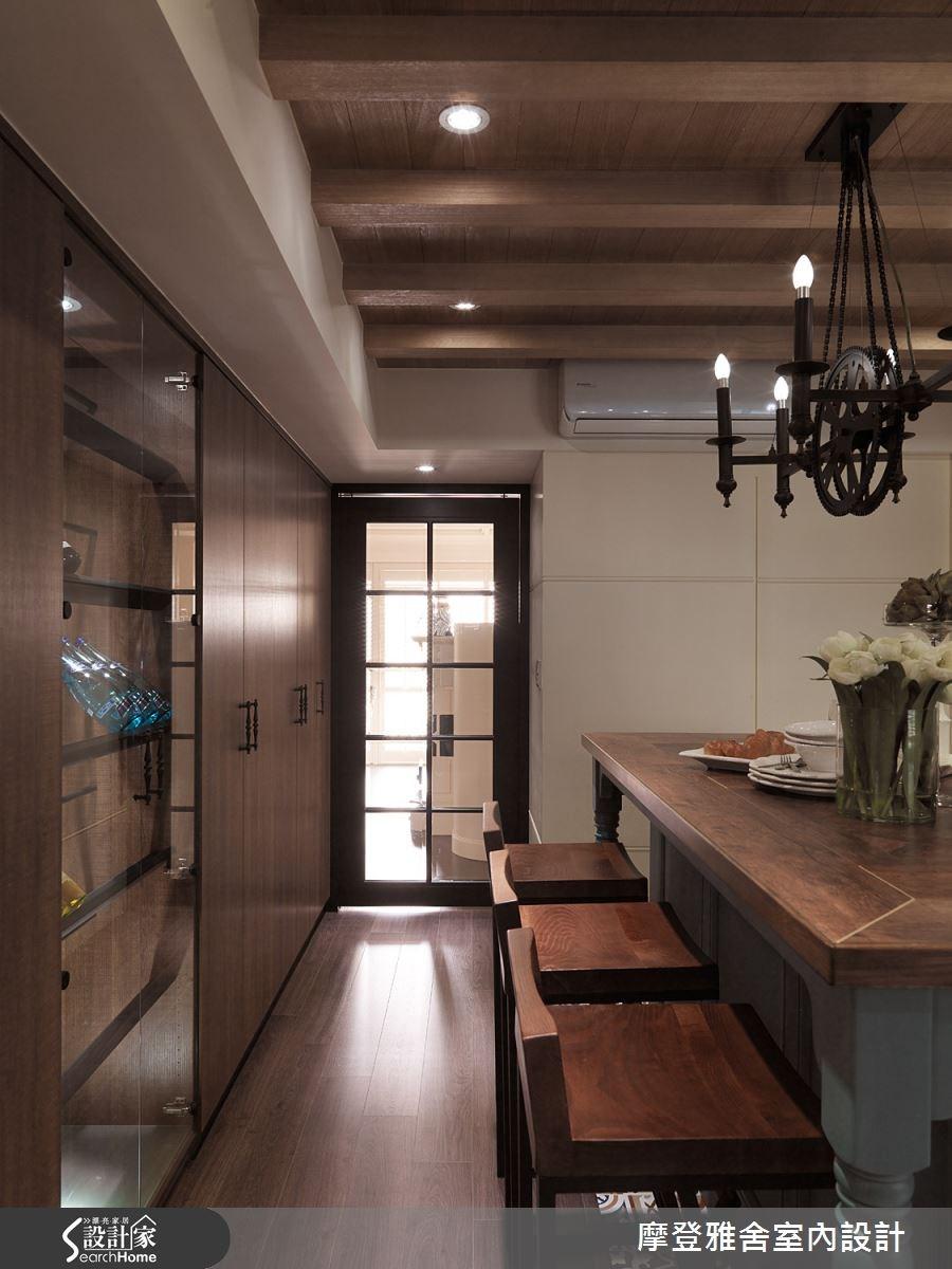 50坪老屋(16~30年)_美式風餐廳案例圖片_摩登雅舍室內設計_摩登雅舍_47之11