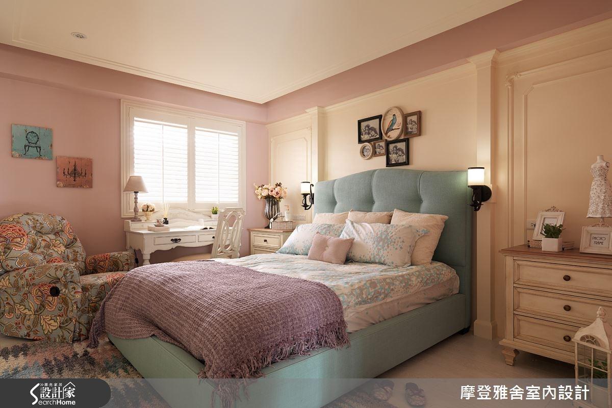 50坪老屋(16~30年)_美式風臥室案例圖片_摩登雅舍室內設計_摩登雅舍_47之12