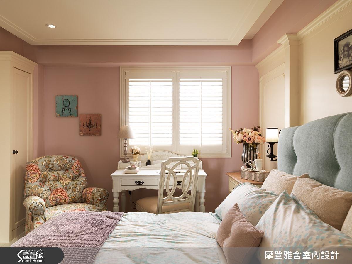 50坪老屋(16~30年)_美式風臥室案例圖片_摩登雅舍室內設計_摩登雅舍_47之13