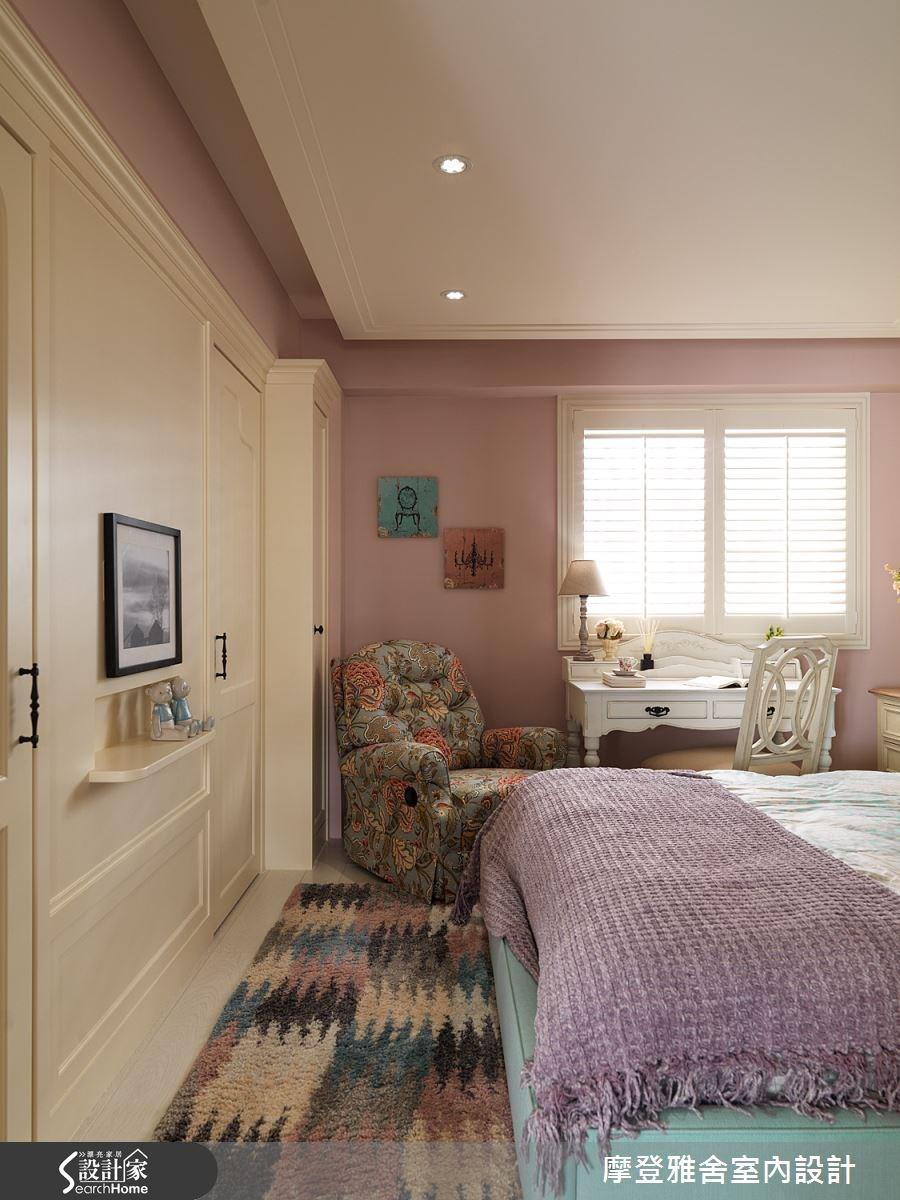 50坪老屋(16~30年)_美式風臥室案例圖片_摩登雅舍室內設計_摩登雅舍_47之15