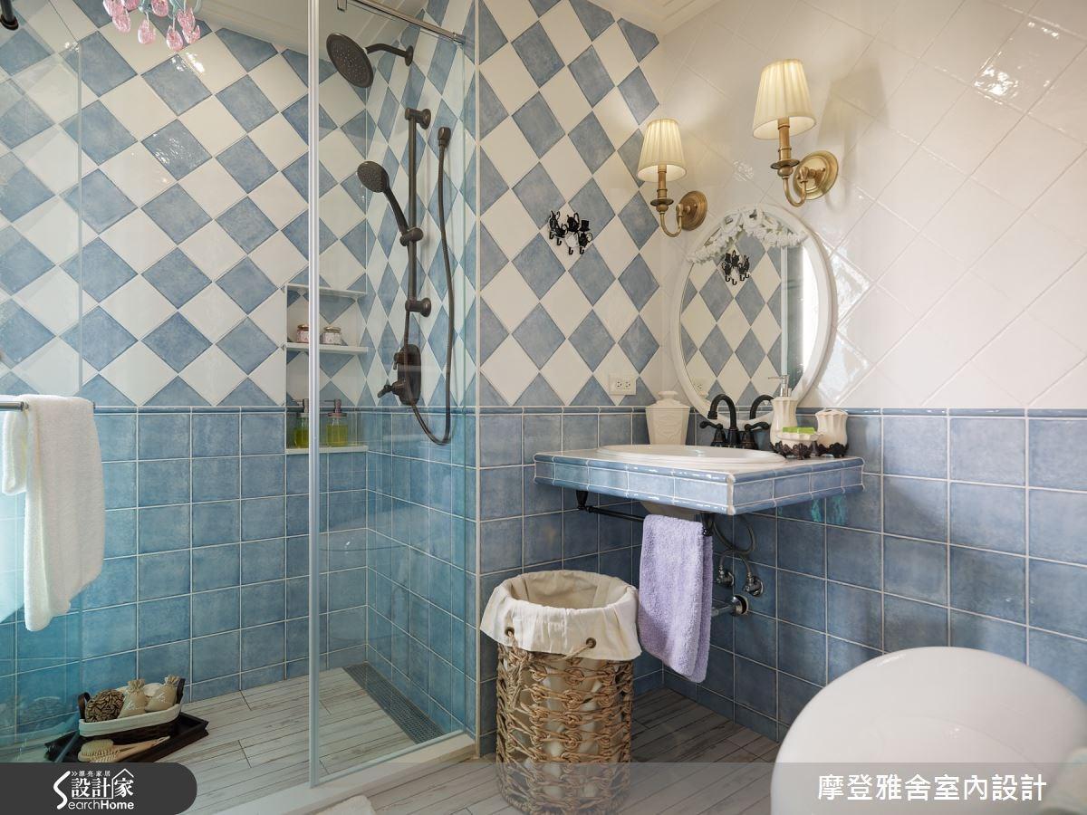 24坪新成屋(5年以下)_鄉村風浴室案例圖片_摩登雅舍室內設計_摩登雅舍_49之32