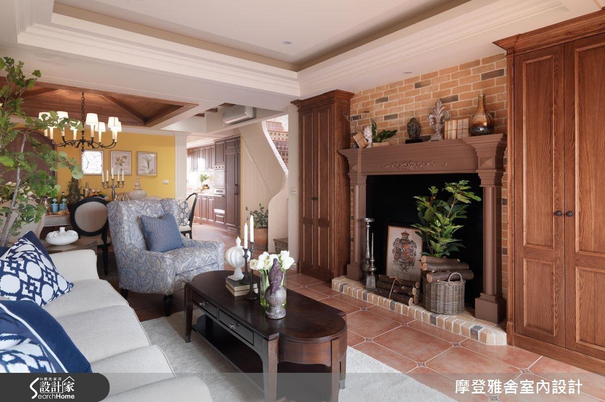 60坪老屋(16~30年)_混搭風客廳案例圖片_摩登雅舍室內設計_摩登雅舍_53之2