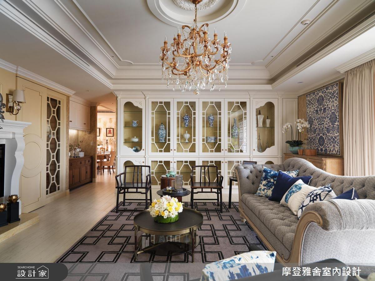 80坪新成屋(5年以下)_混搭風客廳案例圖片_摩登雅舍室內設計_摩登雅舍_56之4