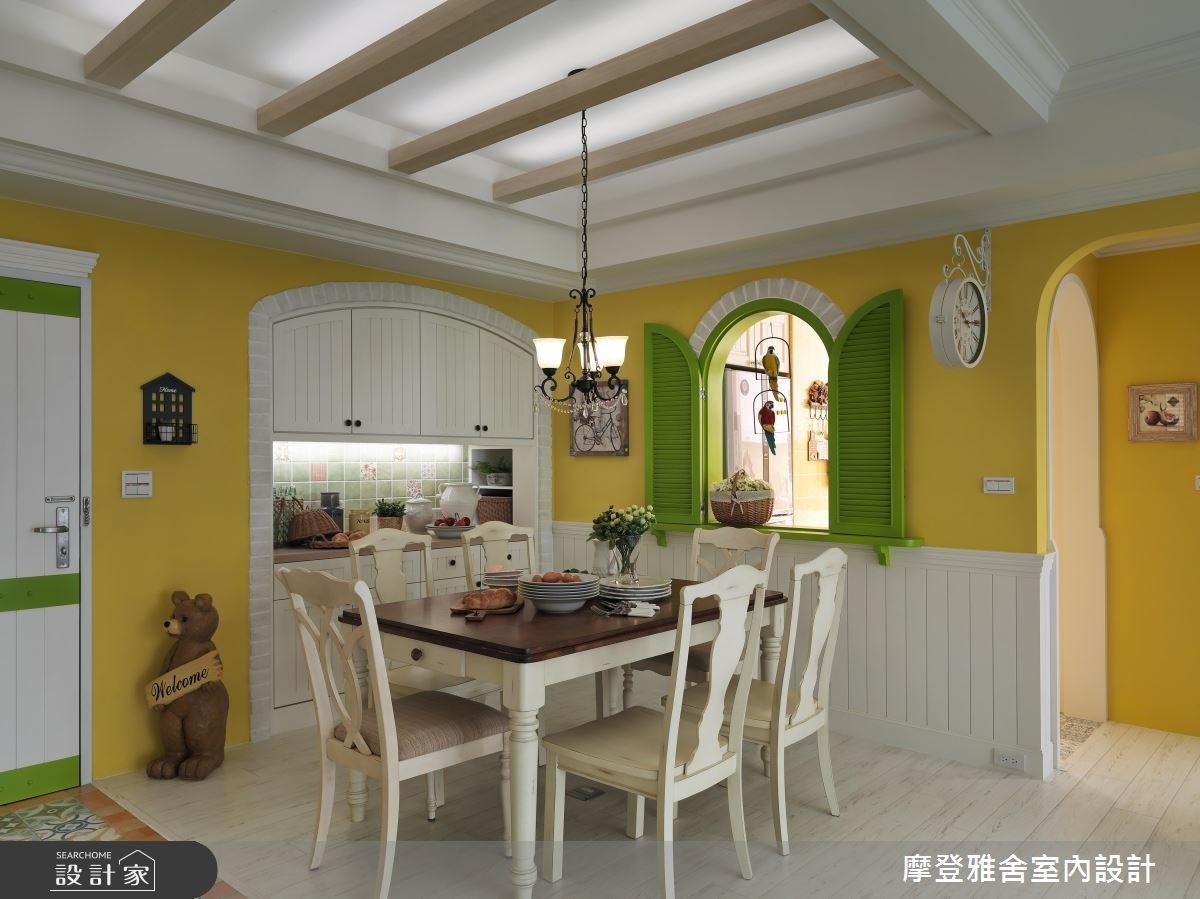 28坪中古屋(5~15年)_鄉村風餐廳案例圖片_摩登雅舍室內設計_摩登雅舍_57之4