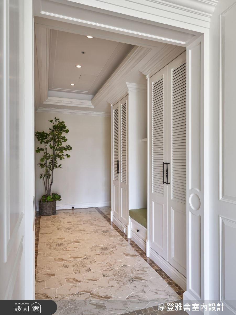 40坪新成屋(5年以下)_美式風玄關案例圖片_摩登雅舍室內設計_摩登雅舍_63之2