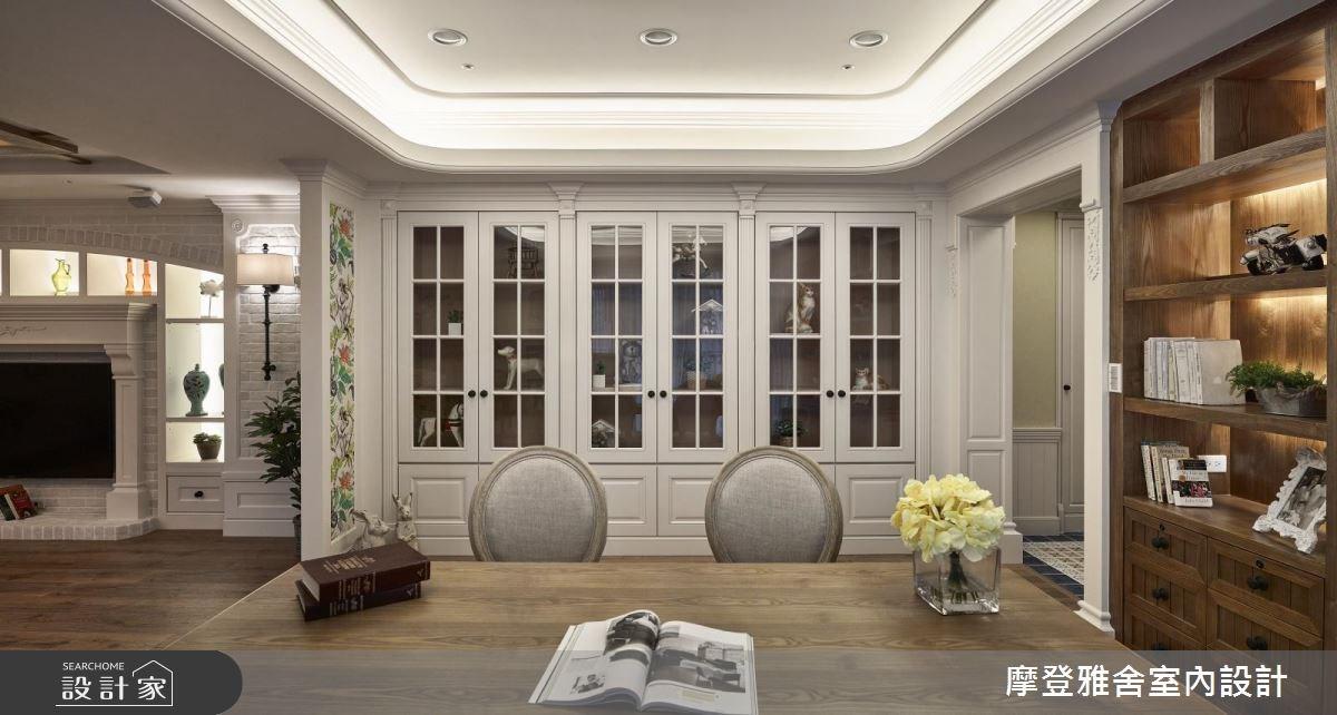 60坪新成屋(5年以下)_鄉村風餐廳案例圖片_摩登雅舍室內設計_摩登雅舍_64之2