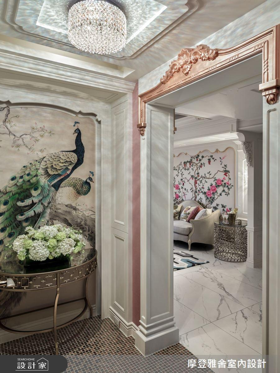 80坪老屋(16~30年)_新古典玄關案例圖片_摩登雅舍室內設計_摩登雅舍_73之2