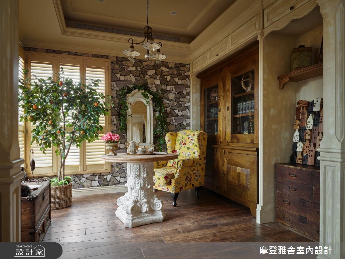 30坪新成屋(5年以下)_鄉村風客廳案例圖片_摩登雅舍室內設計_摩登雅舍_79之21