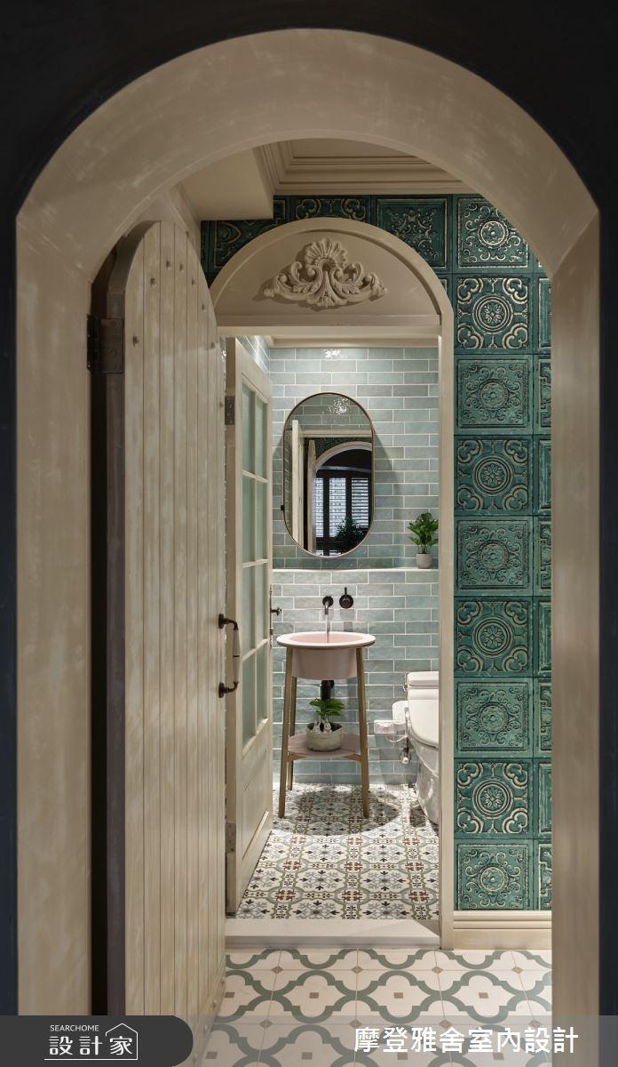 30坪新成屋(5年以下)_鄉村風浴室案例圖片_摩登雅舍室內設計_摩登雅舍_79之32