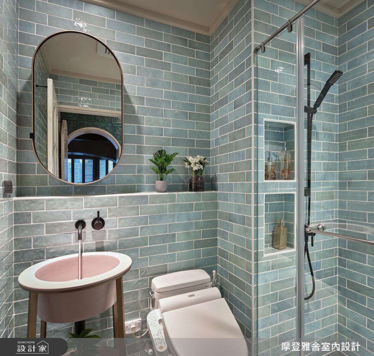 30坪新成屋(5年以下)_鄉村風浴室案例圖片_摩登雅舍室內設計_摩登雅舍_79之33