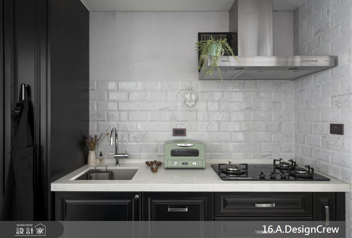 30坪中古屋(5~15年)_混搭風廚房案例圖片_16.A.DesignCrew_16.A.DesignCrew_01之8