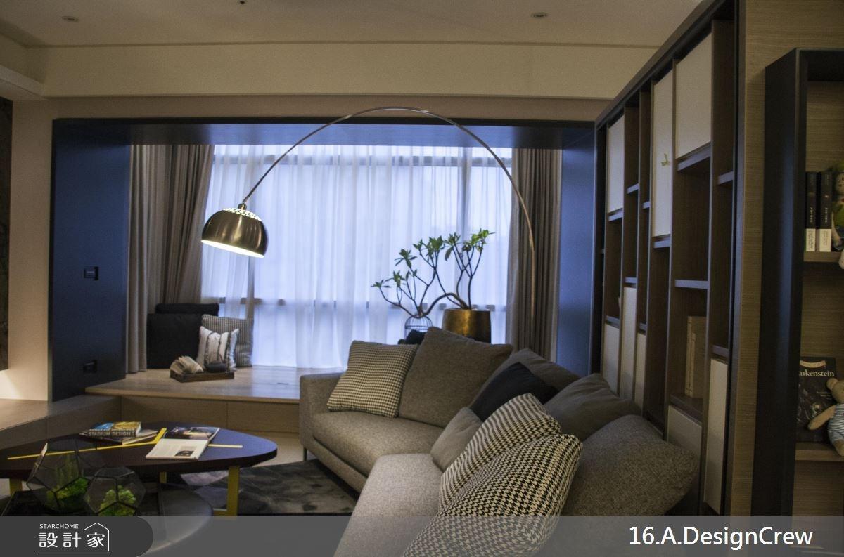 36坪新成屋(5年以下)_混搭風客廳案例圖片_16.A.DesignCrew_16.A.DesignCrew_07之4