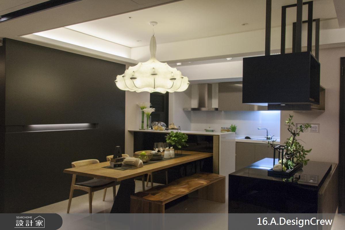 36坪新成屋(5年以下)_混搭風餐廳廚房案例圖片_16.A.DesignCrew_16.A.DesignCrew_07之8