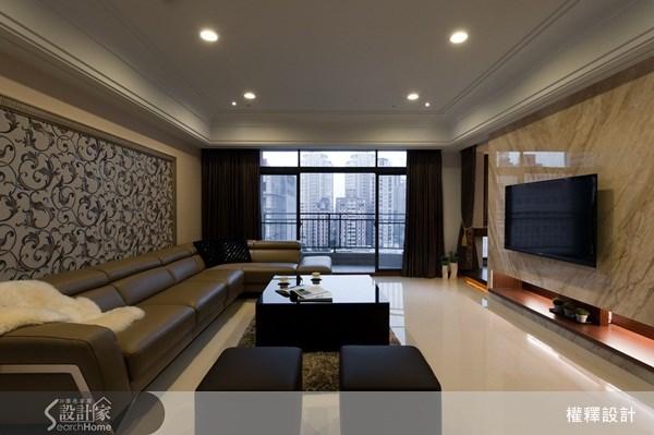 40坪新成屋(5年以下)_奢華風案例圖片_權釋設計_權釋_74之1