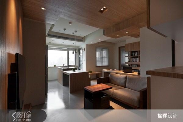 18坪新成屋(5年以下)_休閒風案例圖片_權釋設計_權釋_91之2