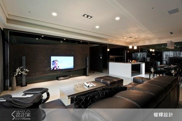 40坪新成屋(5年以下)_奢華風案例圖片_權釋設計_權釋_93之9