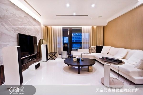 42坪新成屋(5年以下)_奢華風案例圖片_天空元素視覺空間設計所_天空元素_11之1