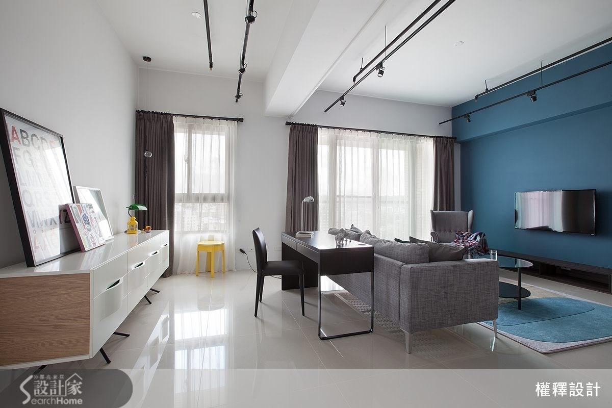 34坪新成屋(5年以下)_北歐風案例圖片_權釋設計_權釋_112之5