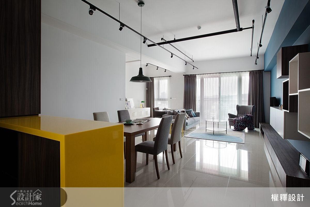 34坪新成屋(5年以下)_北歐風案例圖片_權釋設計_權釋_112之1