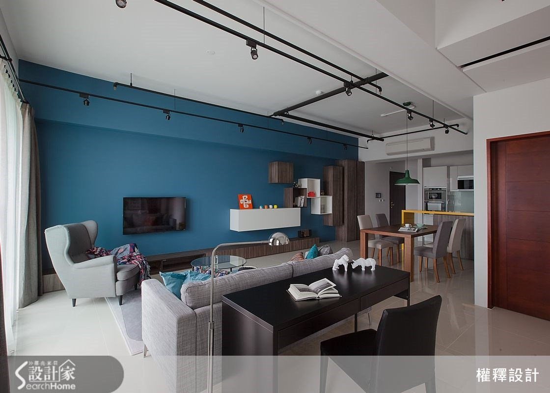 34坪新成屋(5年以下)_北歐風案例圖片_權釋設計_權釋_112之9