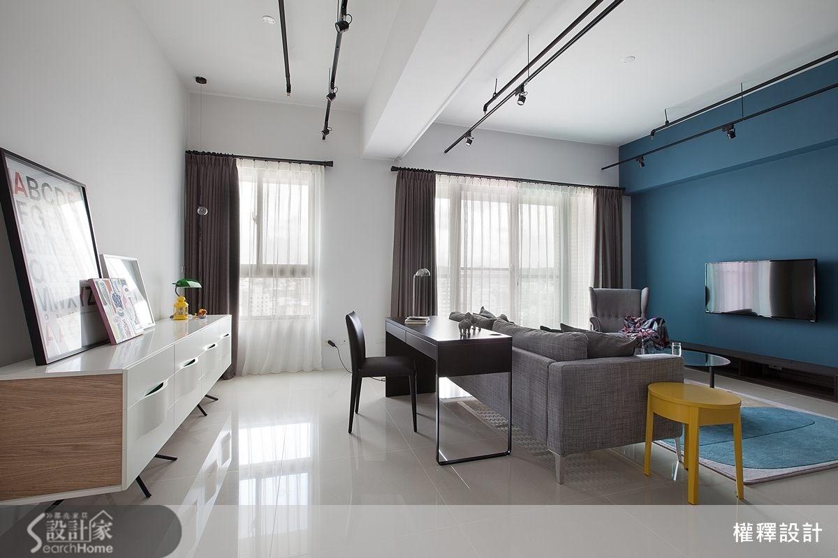 34坪新成屋(5年以下)_北歐風案例圖片_權釋設計_權釋_112之13