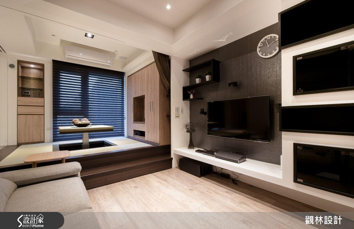 20坪新成屋(5年以下)_混搭風客廳案例圖片_觀林設計_觀林_30之4